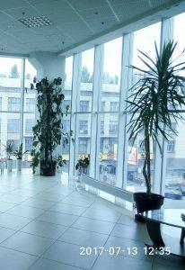вид с третьего этажа